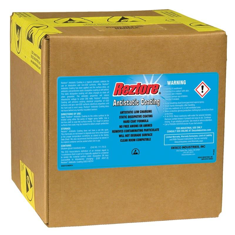 10418-ANTISTATIC COATING, REZTORE 2.5 GAL BOX