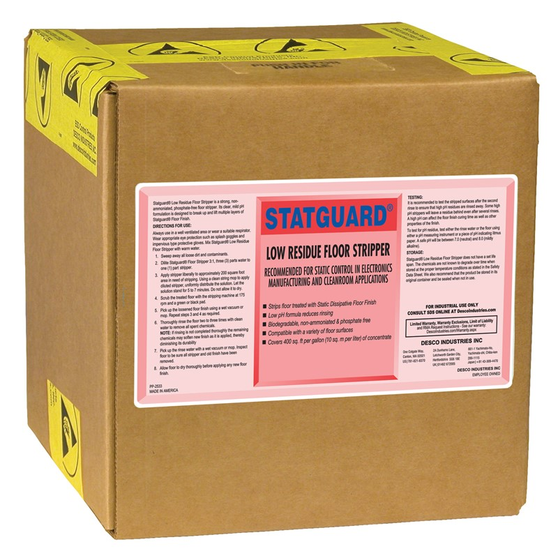 10442-STRIPPER, FLOOR, STATGUARD 19L BOX