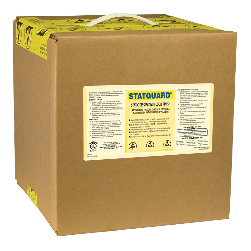 10512-FINISH, FLOOR, STATGUARD 19L BOX