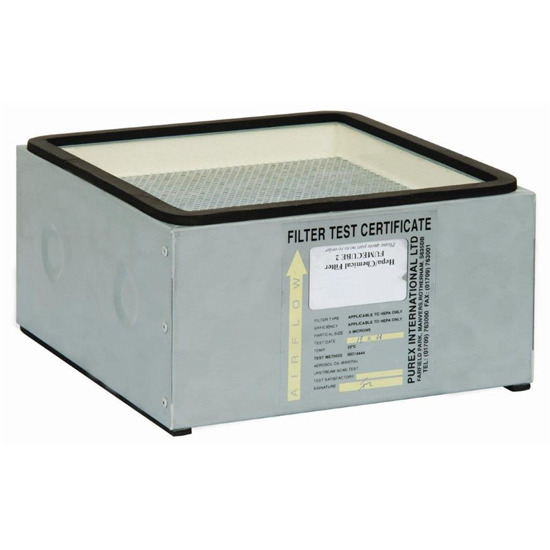 110536EB-MAIN FILTER, HEPA, CHEMICAL, FOR FUMECUBE