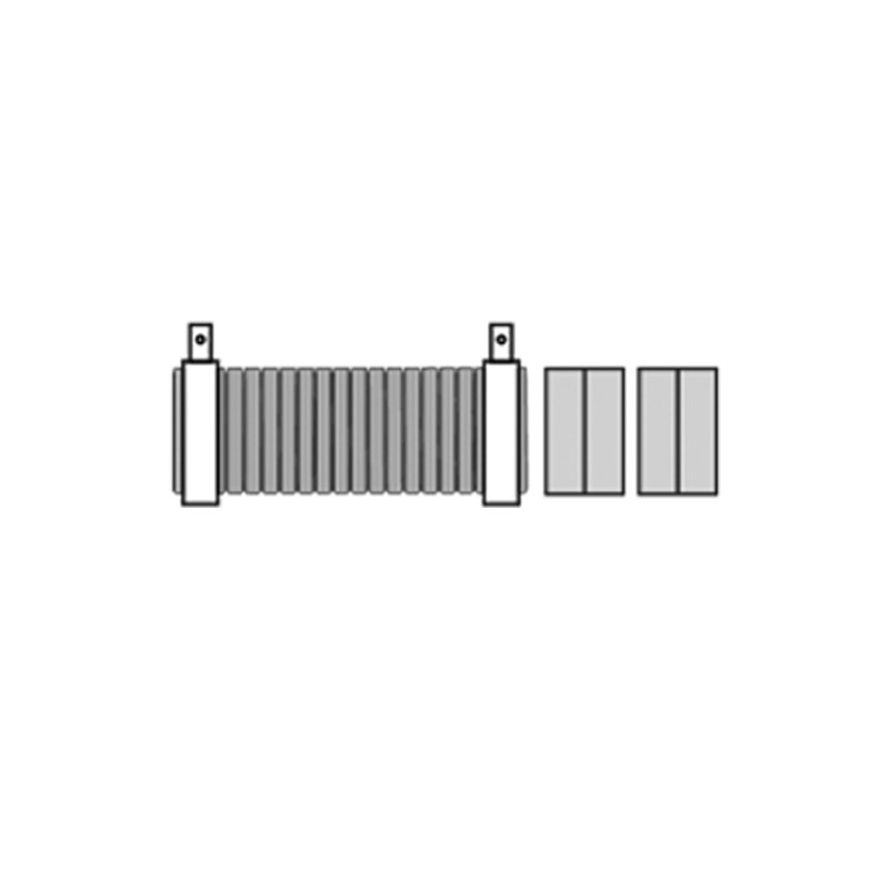 120280-CONNECTION KIT, 150MM INLET, 15MM EXHAUST, 1.5M LENGTH,150