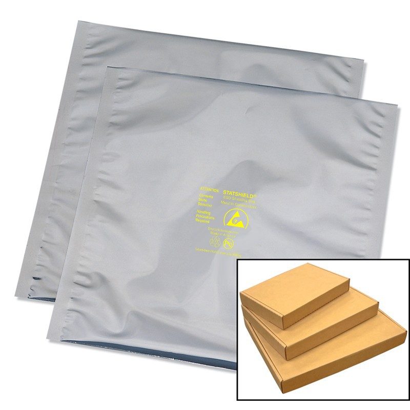 13351-BAG, STATSHIELD, METAL-IN, BOXED, 5IN x 8IN, 100 EA/PK
