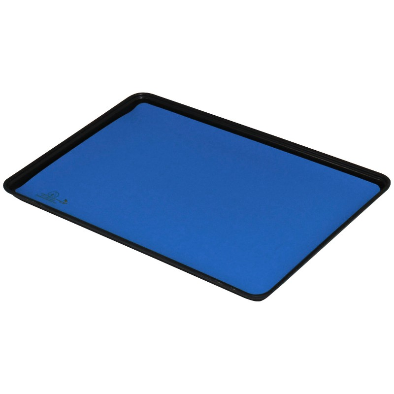 16315-TRAY LINER, TRUSTAT B80, VINYL BLUE, 0.080'' x 16 IN x 24 IN