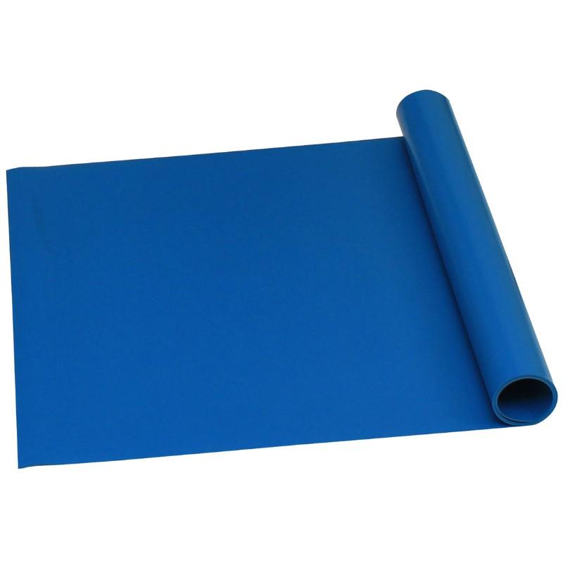 16319-ROLL, TRUSTAT B80, VINYL, BLUE, 0.080'' x 48 IN x 50 FT