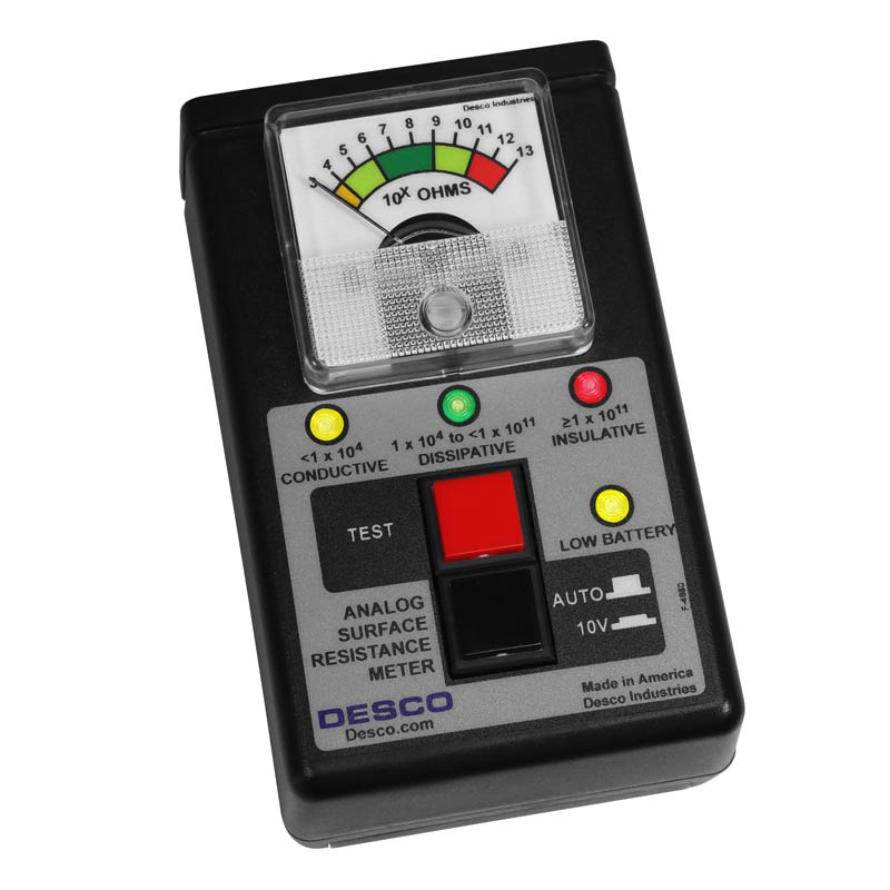 19786-ANALOG SURFACE RESISTANCE METER