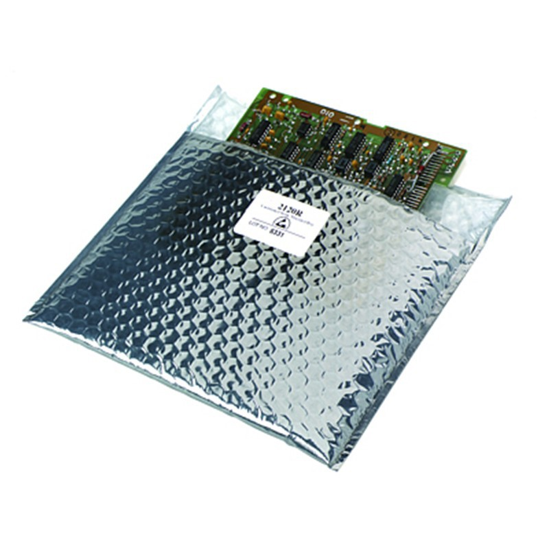 212107-STATIC SHIELD BAG 2120R SERIES CUSHIONED, 10x7, 100 EA