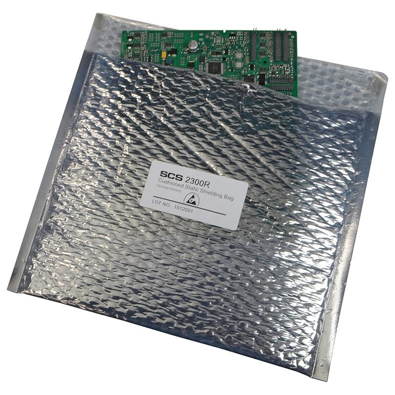 23067-STATIC SHIELD BAG 2300R SERIES CUSHIONED, 6x7, 100 EA