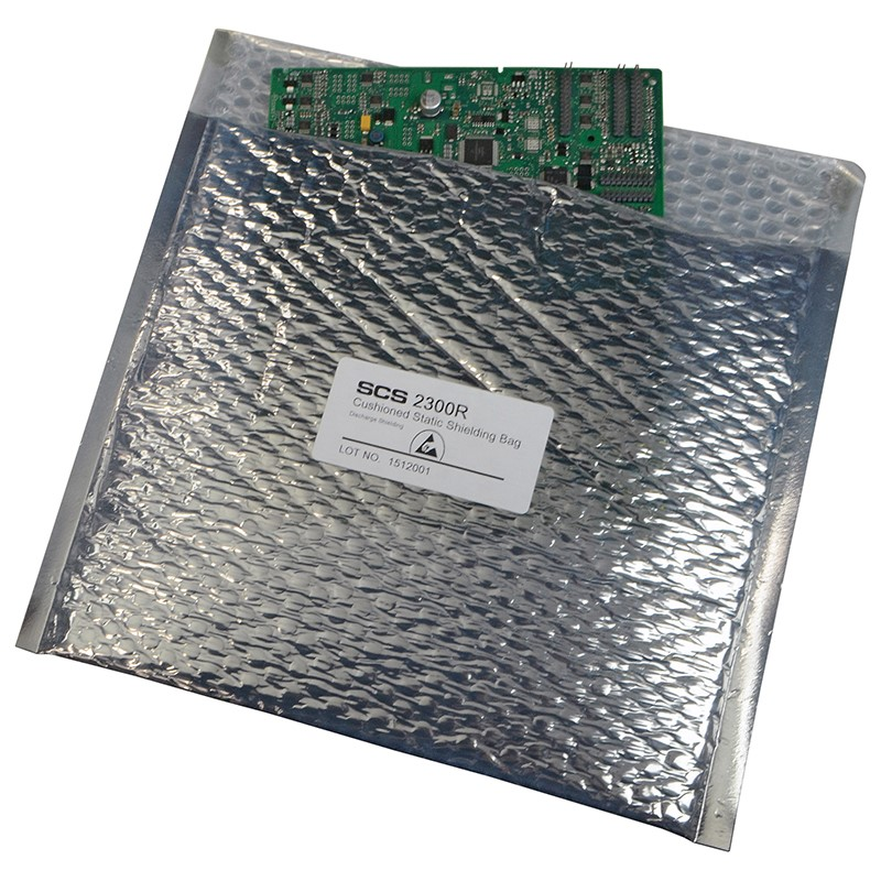23068-STATIC SHIELD BAG 2300R SERIES CUSHIONED, 6x8, 100 EA