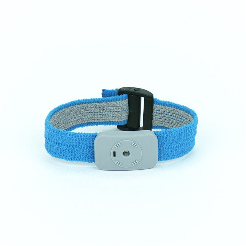 2368-WRIST BAND, DUAL CONDUCTOR, ADJUSTABLE FABRIC