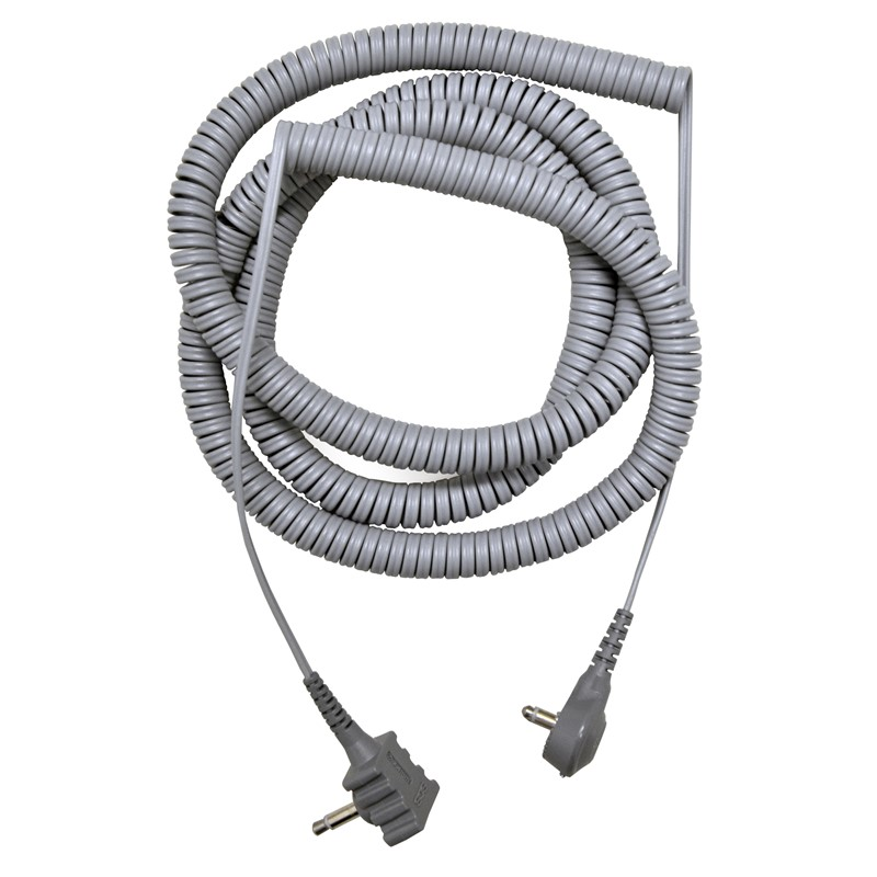 2371R-CORD, DUAL CONDUCTOR, 20', WITH RIGHT ANGLE MONO PLUG