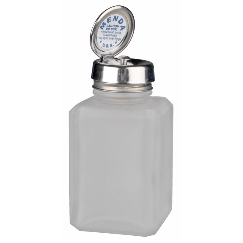 35577-PURE-TOUCH, SS, SQUARE, GLASS CLEAR FROSTED, 6 OZ