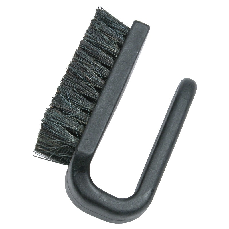 35695-BRUSH, CONDUCTIVE, CURVED HANDLE, FIRM, 76 MM x 38 MM