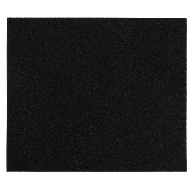 37714-FOAM, BLACK CONDUCTIVE LOW DENSITY, 3/8IN, 8 X 9