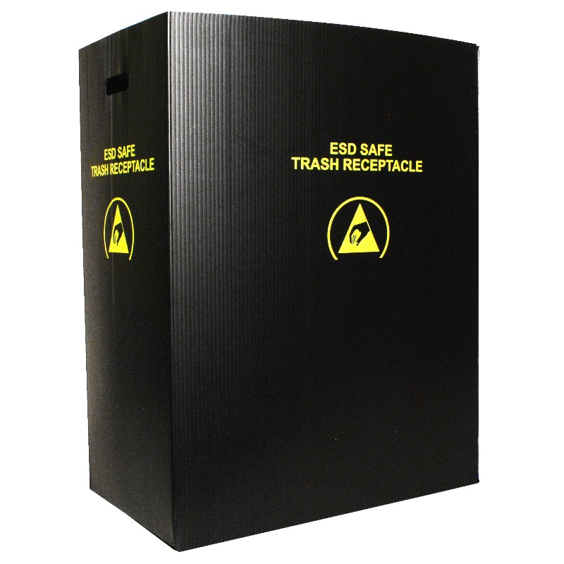37817-TRASH RECEPTACLE, LARGE, 21''x12-3/4''x28'', 36 GAL