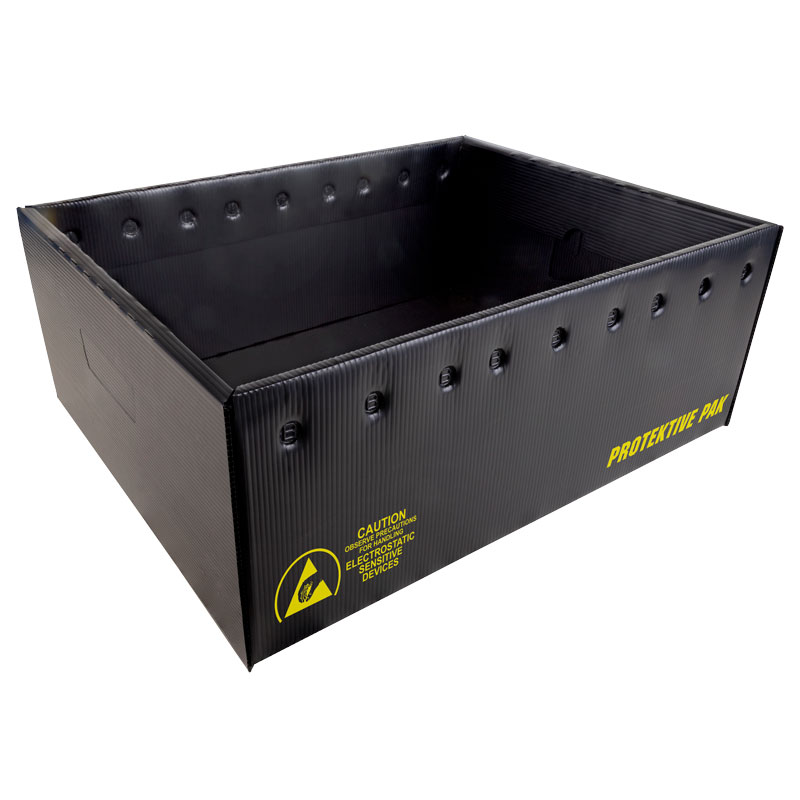 39125-COLLAPSIBLE STORAGE CONTAINER, PLASTEK, 22-7/8 x 12-7/8 x 8