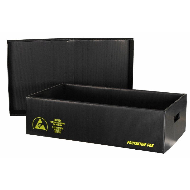 39304-PLASTEK SHIPPING SAVER STORAGE CONTAINER,18-3/8x12-3/8x12-3/4