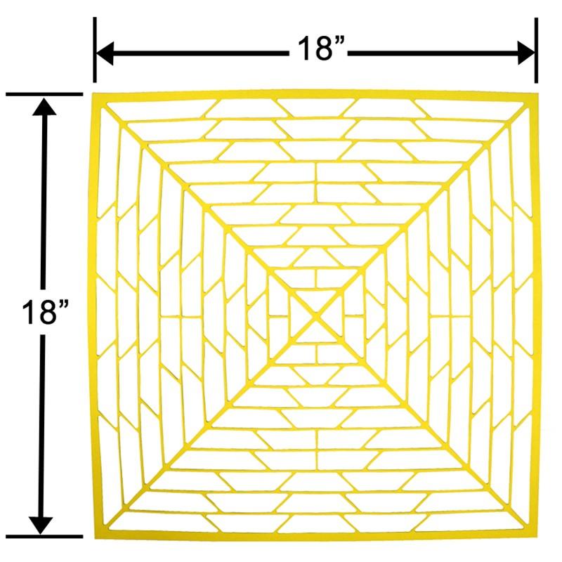 41403-LINER, PCB WASH TRAY, 0.072'' x 18'' x 18''