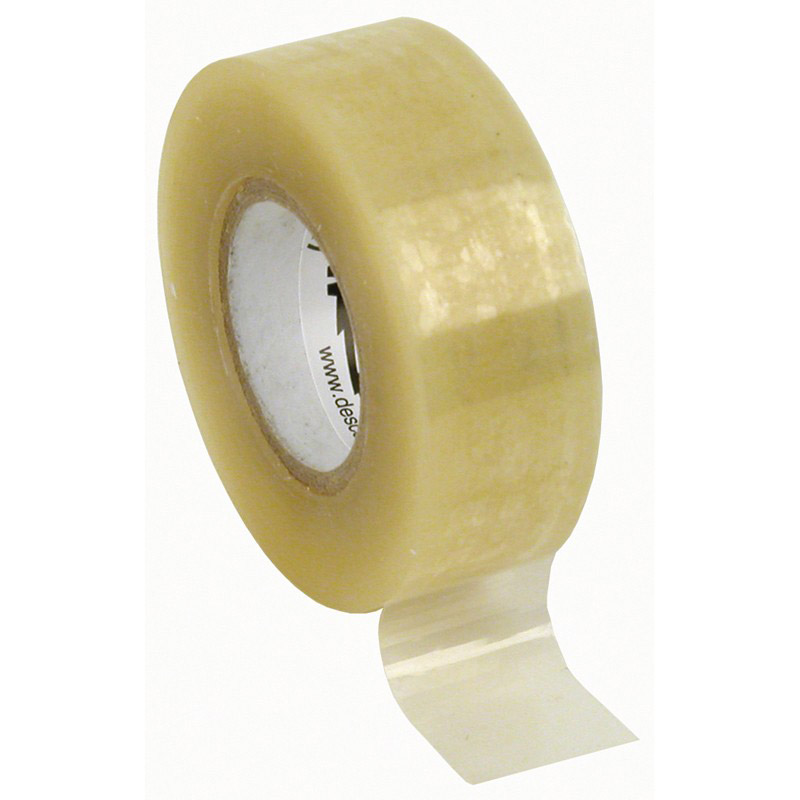 46921-WESCORP ESD TAPE, CLEAR 3/4IN x 36YDS, 1IN PAPER CORE