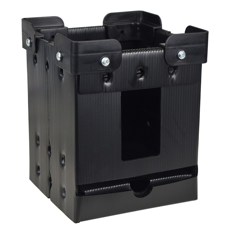 47205-REEL STORAGE, VERTICAL, W/ STACKING CORNERS, 7''