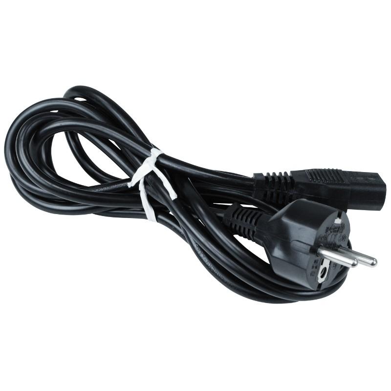 50545-CORD, AC POWER, BLACK, 220V EURO