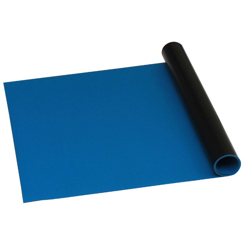 66161-ROLL, STATFREE B2 VINYL, DARK BLUE, 0.060''x30''x50'