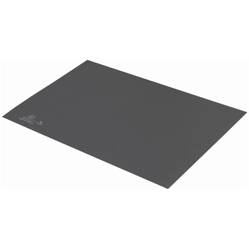 66446-静電気拡散性ラバーマット  T2プラス グレー 1.5mm x 600mm x 900mm