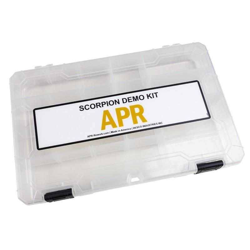 670021-COMPARTMENT BOX, DEMO KIT, FOR SCORPION