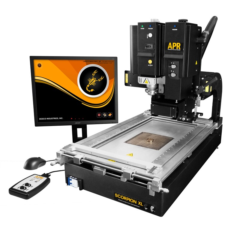 670050-SCORPION XL REWORK SYSTEM, WITH MANUAL PLACEMENT HEAD