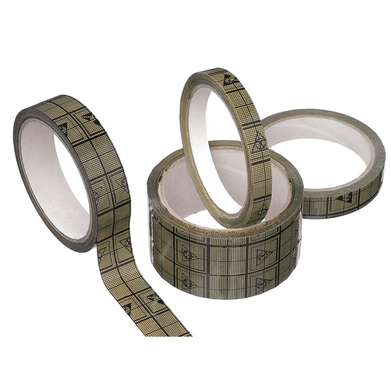 81250-TAPE, WESCORP, ESD CONDUCTIVE GRID, 1/2 IN x 118 FT