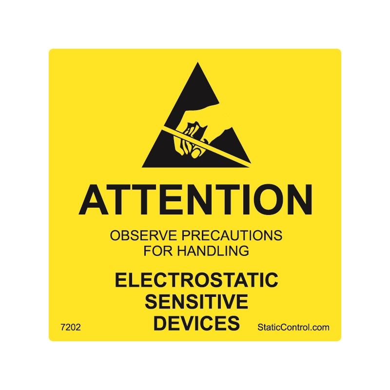 7202-CAUTION LABEL, DESTRUCTIBLE, 2IN x 2IN, RS-471, 500/ROLL