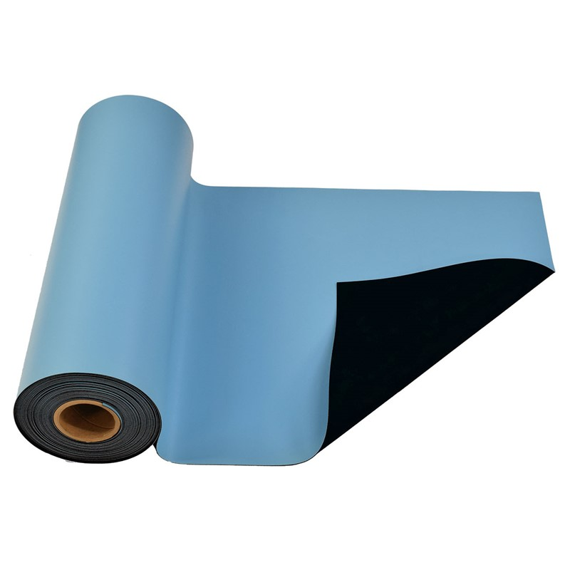 770071-MAT ROLL, RUBBER, R3, LIGHT BLUE, 30'' x 50'