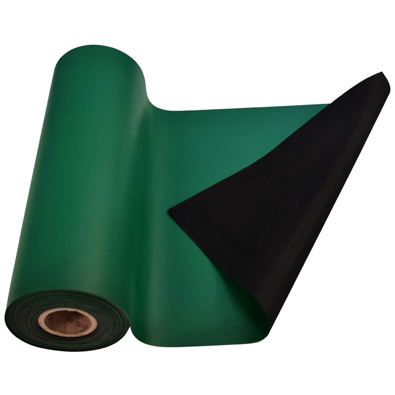 770082-MAT ROLL, RUBBER, R3, GREEN, 30'' x 50'