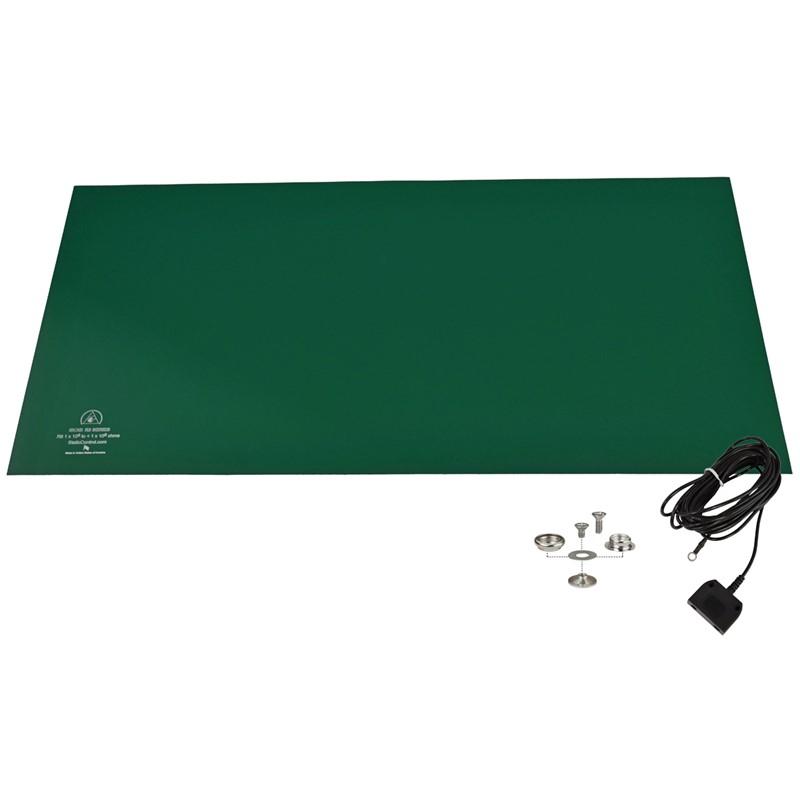 770085-MAT KIT, RUBBER, R3, GREEN, 24'' x 48''
