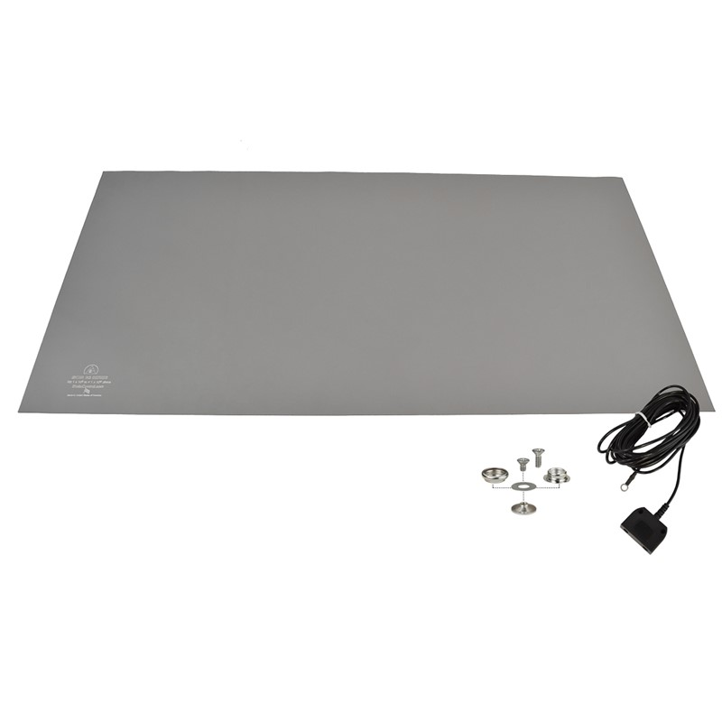 770090-MAT KIT, RUBBER, R3, GRAY, 24'' x 48''