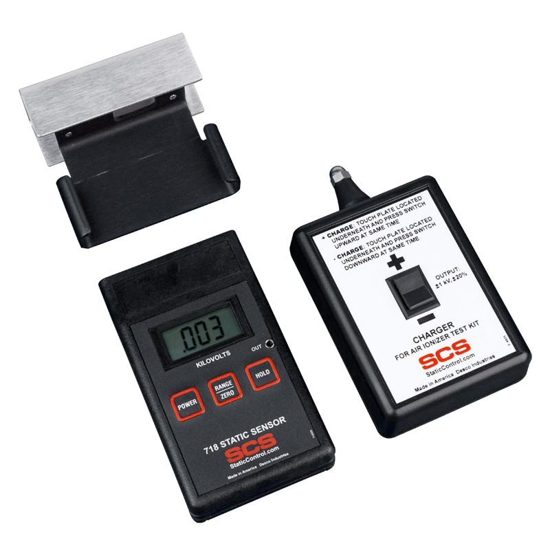 770718-静電気測定ーセット (センサー、プレート、チャージャー、ケース)