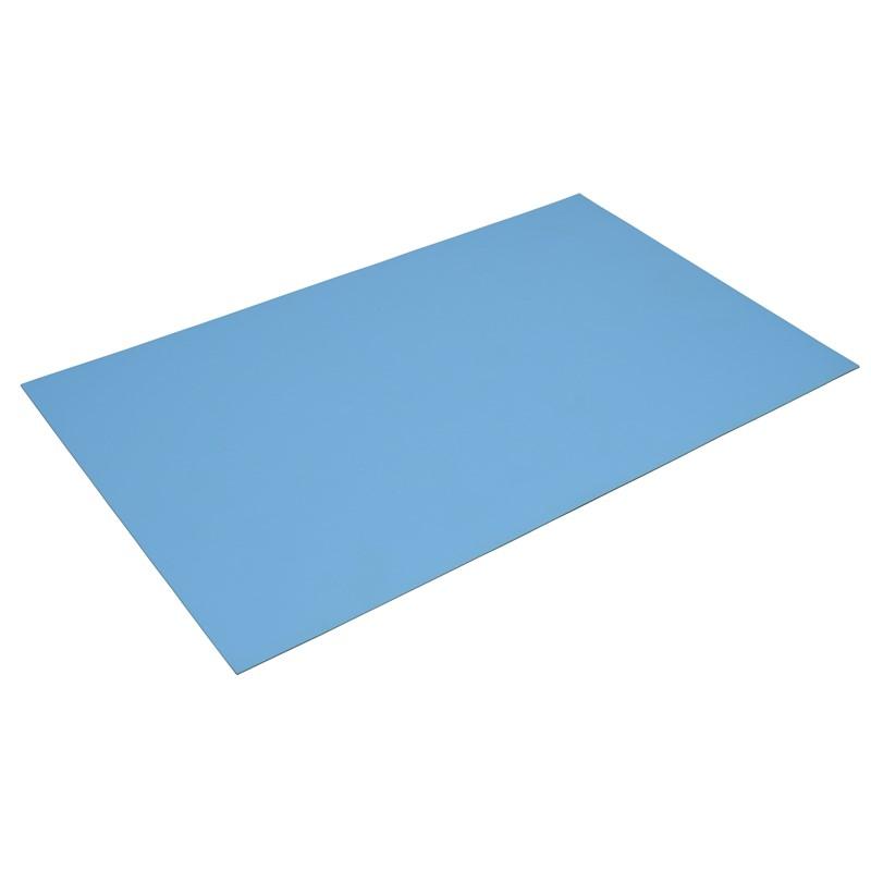 770782-MAT KIT, 2-LAYER RUBBER, R7 SERIES, LIGHT BLUE, 0.060''x36''x60''