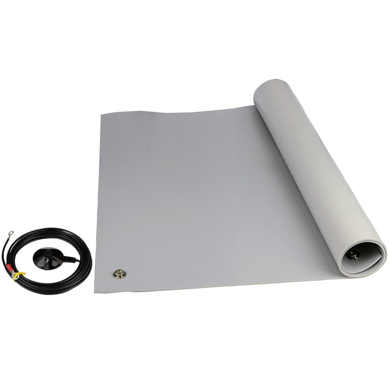 "8203-FLOOR KIT, 3-LAYER VINYL, 8200 SERIES, GRAY, 0.140""x48""x72"""