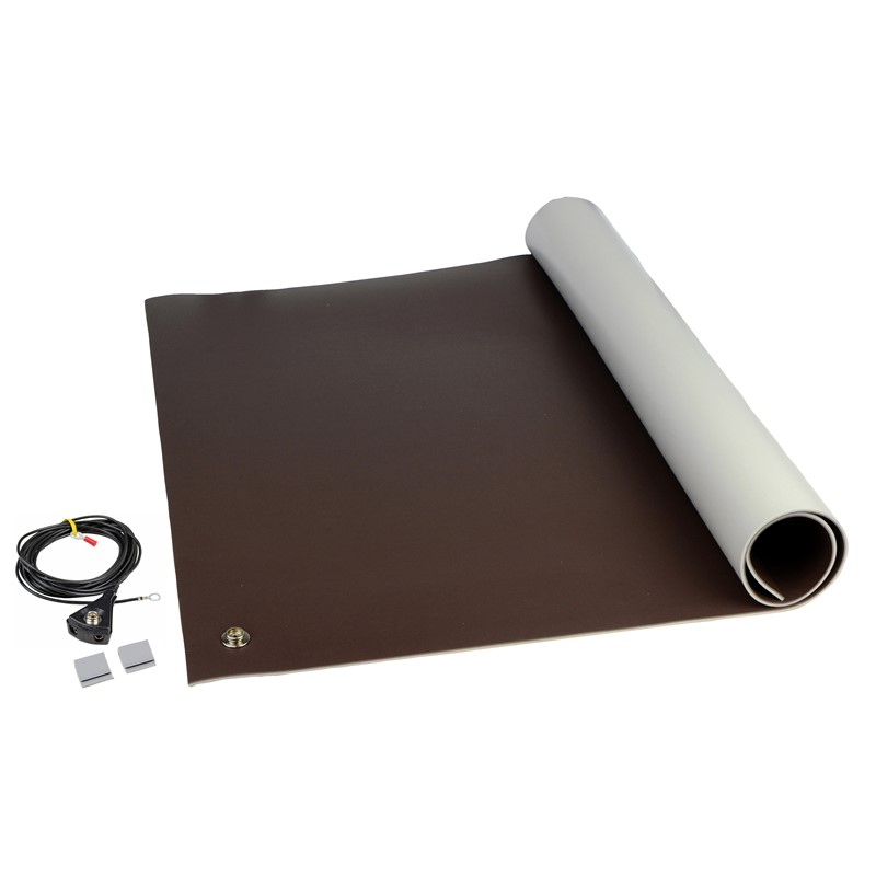 "8221-MAT KIT, 3-LAYER VINYL, 8200 SERIES, BROWN, 0.140""x24""x36"""