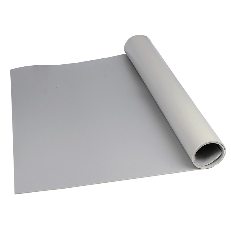 "8233-MAT ROLL, 3-LAYER VINYL, 8200 SERIES, GRAY, 0.140""x24""x50'"
