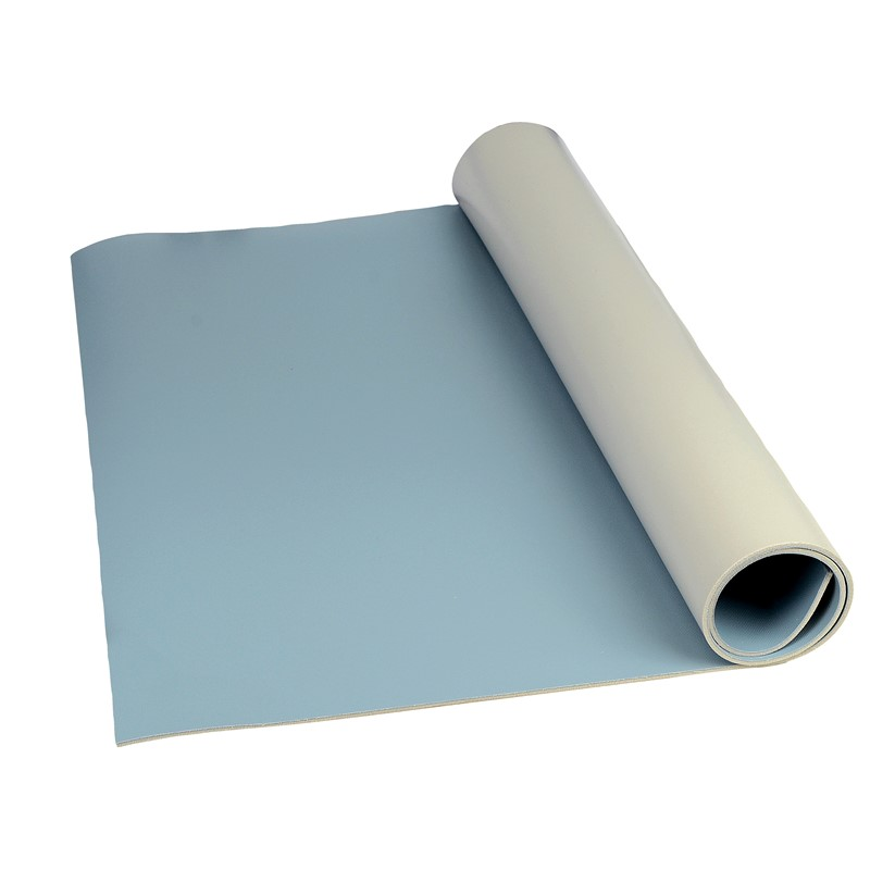 "8244-MAT ROLL, 3-LAYER VINYL, 8200 SERIES, BLUE, 0.140""x30""x50'"