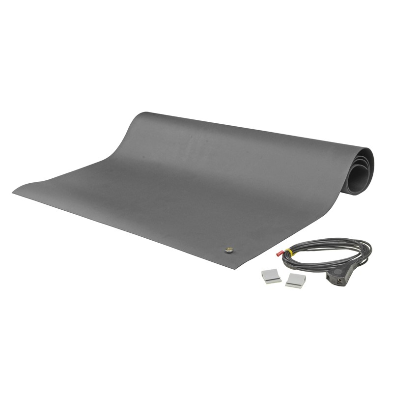 "8830-MAT KIT, 2-LAYER RUBBER, 8800 SERIES, GRAY, 0.065""x36""x48"""