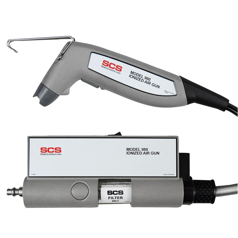 980E-IONIZED AIR GUN, NO POWER ADAPTER