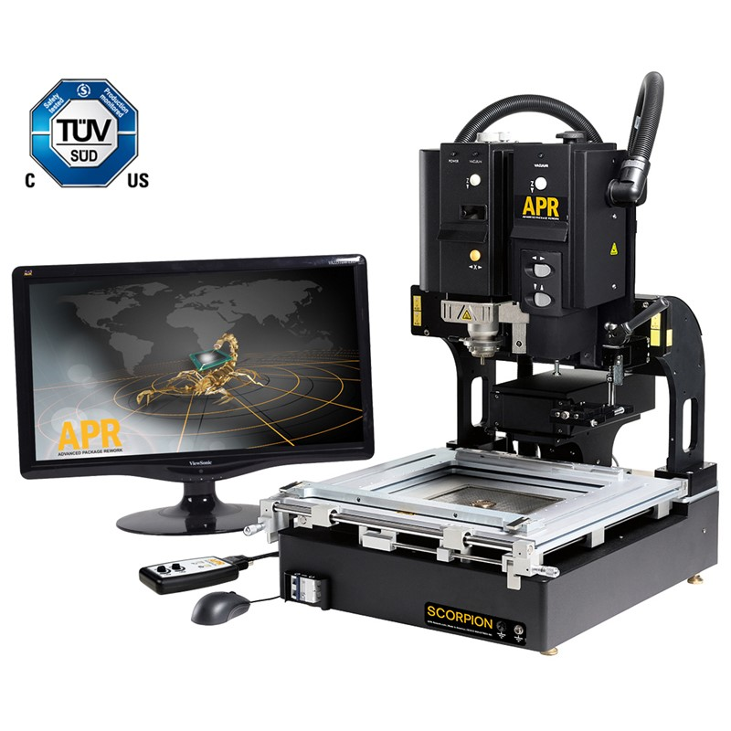 APR-1200-SRS-MOB-SCORPION REWORK SYSTEM, WITH MANUAL PLACEMENT HEAD, FOR HIGH DENSITY BOARDS