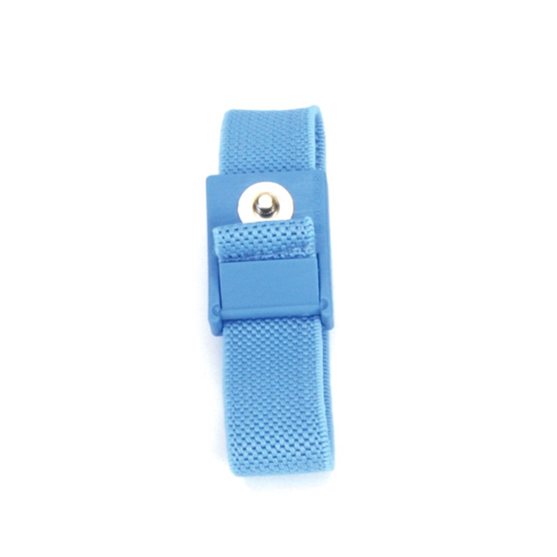 BLUEWS-WRISTBAND, FABRIC, BLUE,