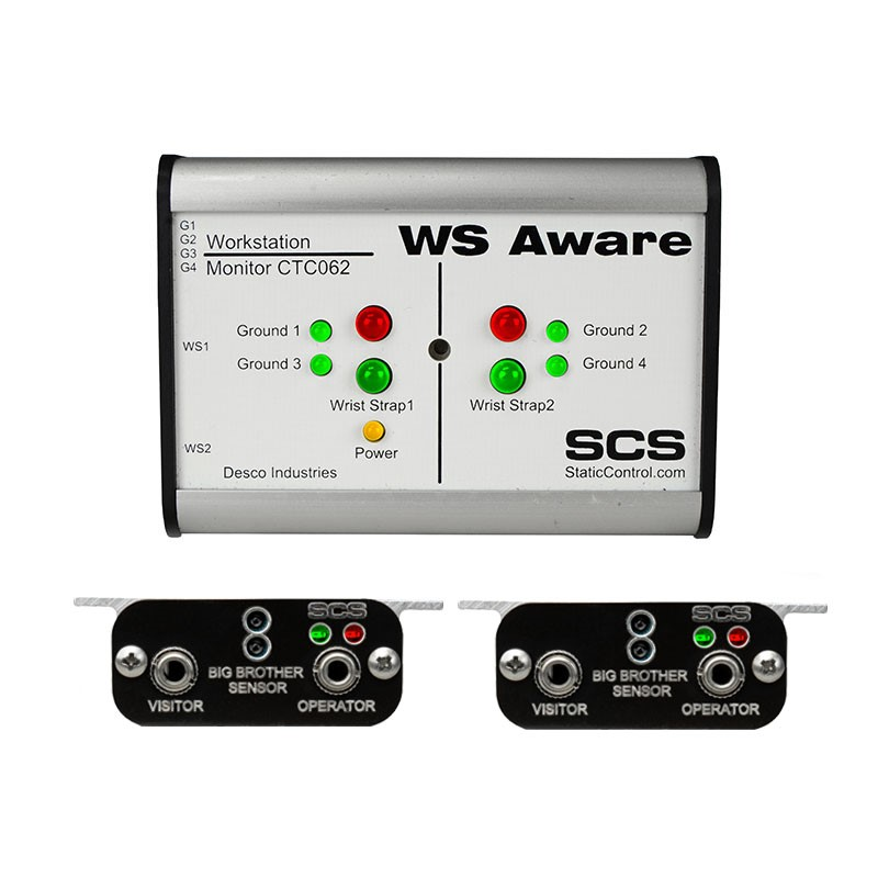 CTC062-5-243-WW-WS AWARE MONITOR, MODBUS OUT, BIG BROTHER REMOTES