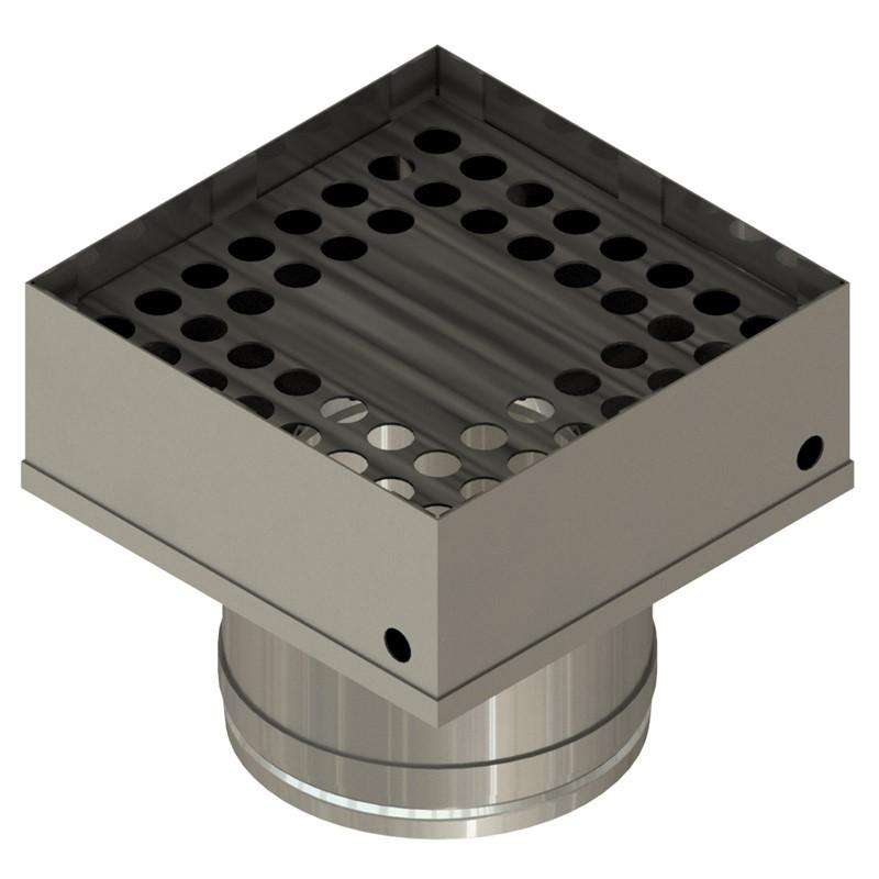 NZP-490-490-PRE-HEATER NOZZLE, 49.0MM x 49.0MM