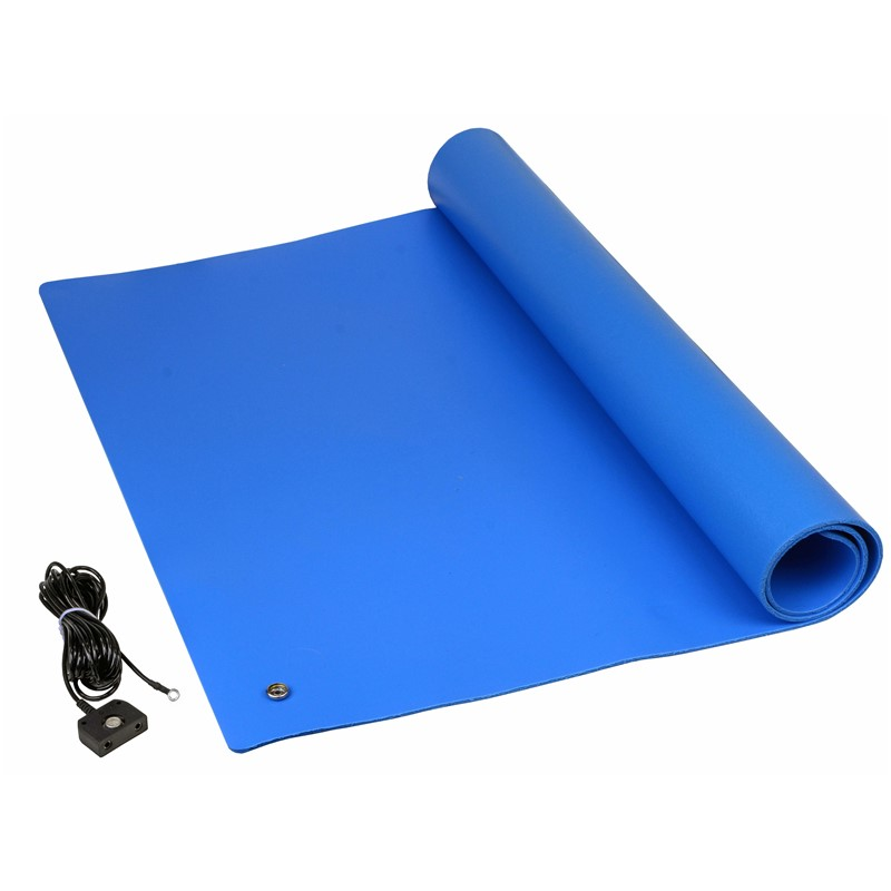 "TM2436L3BL-L-MAT KIT, PREMIUM 3-LAYER VINYL,BLUE, 0.135"" x 24"" x 36"""