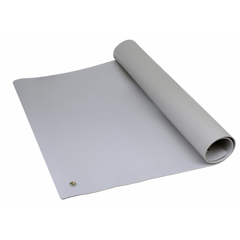 "TM2436L3GR-MAT, PREMIUM 3-LAYER VINYL, GRAY, 0.135"" x 24"" x 36"""