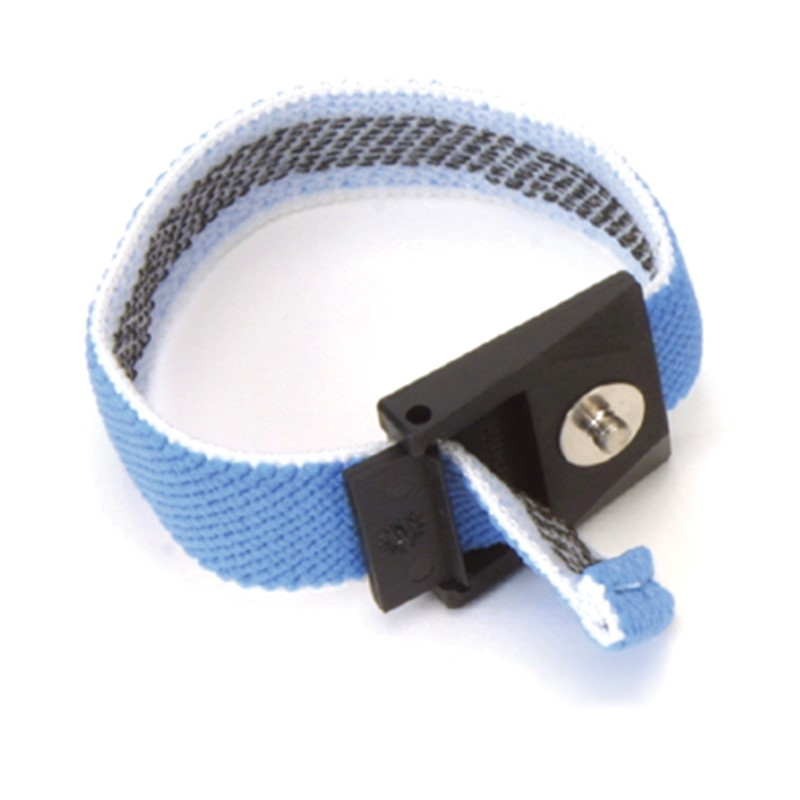 WBB-AFWS-WRISTBAND, ADJUSTABLE, FABRIC, BLUE/WHITE, 4MM