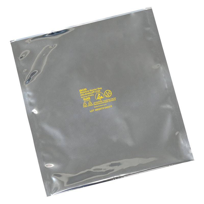 D271820-MOISTURE BARRIER BAG, DRI-SHIELD 2700, 18x20, 100 EA